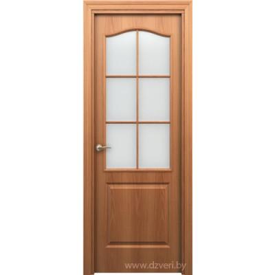 Дверь МДФ мазонитовая - Палитра ДО (остекленная)