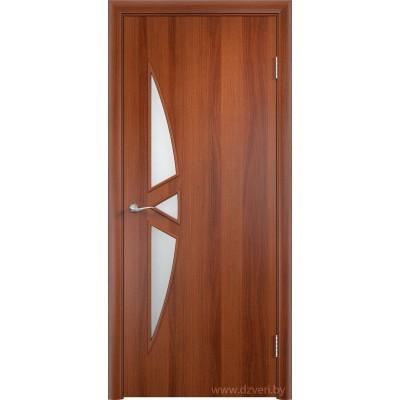 Ламинированная дверь МДФ  - С-1