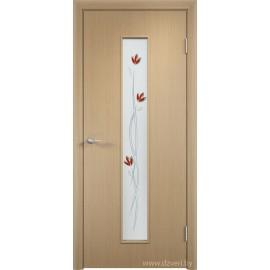 Дверь МДФ - C-17(ф) Тюльпан
