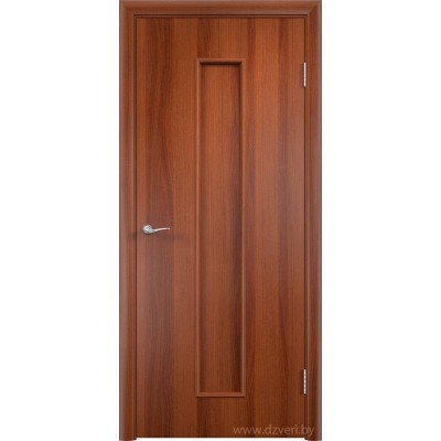 Ламинированная дверь МДФ - С-21 (глухое полотно)