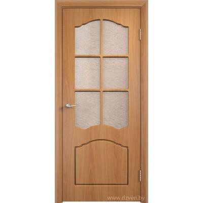 Дверь МДФ с покрытием ПВХ - Лидия ДО (остекленная)