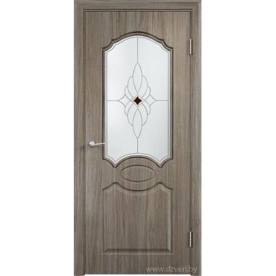 Скин дверь экошпон - Афина ДО (ромб)