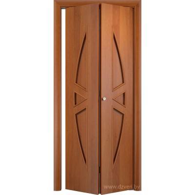 Складная ламинированная дверь - С-1