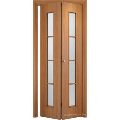 Складная ламинированная дверь - С-14
