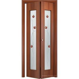 Складная дверь - С-17 (тюльпан)