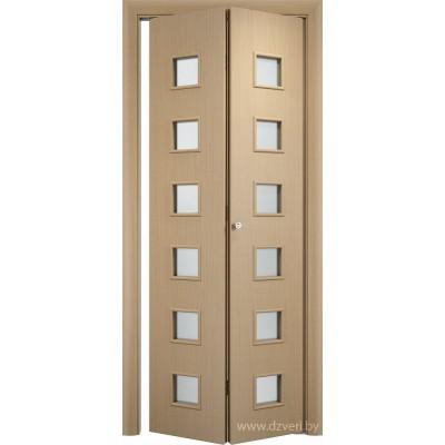 Складная ламинированная дверь - С-9