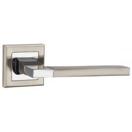 Дверная ручка PUNTO TECH никель/хром