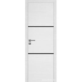 Дверь экошпон   -  Версаче 2 (черное)