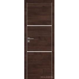 Дверь экошпон   -  Версаче 2 (белое)