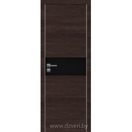Дверь экошпон   -  Версаче 3 (черное)