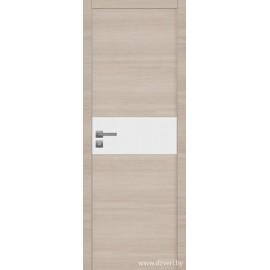 Дверь экошпон   -  Версаче 3 (белое)