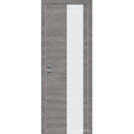 Дверь экошпон   -  Версаче 4 (белое)