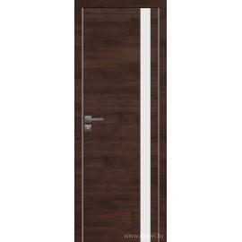 Дверь экошпон   -  Версаче 5 (белое)