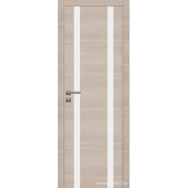 Дверь экошпон   -  Версаче 6 (белое)
