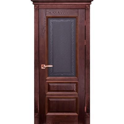 Дверь из массива дуба - Аристократ Модель 2 (полотно глухое)