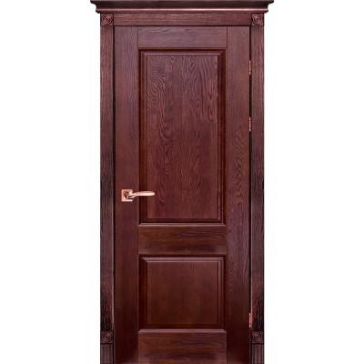 Дверь из массива дуба - Классик Модель 1 (полотно глухое)