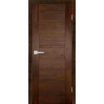 Дверь из массива дуба - Хай-Тек Модель 4 (полотно глухое)