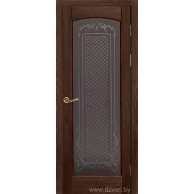 Дверь из массива сосны - Витраж