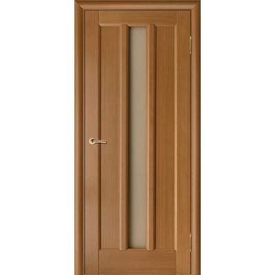 Дверь из массива сосны покрытая шпоном - Гутта ПЧО