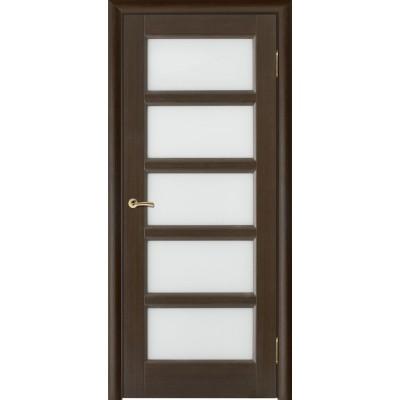 Дверь из массива сосны покрытая шпоном - Премьера-5 ПО