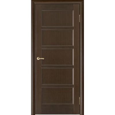 Дверь из массива сосны покрытая шпоном - Премьера-5 ПГ