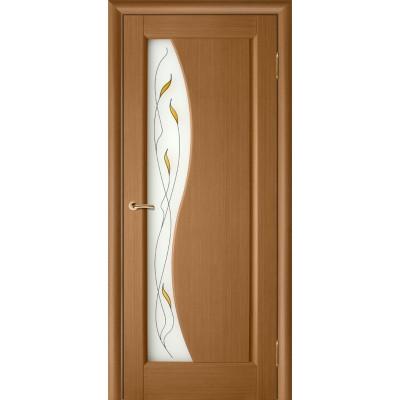 Дверь из массива сосны покрытая шпоном - Руссо ПО