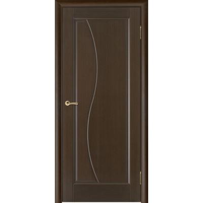 Дверь из массива сосны покрытая шпоном - Руссо ПГ