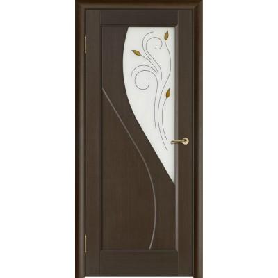 Дверь из массива сосны покрытая шпоном - Сандро ПО