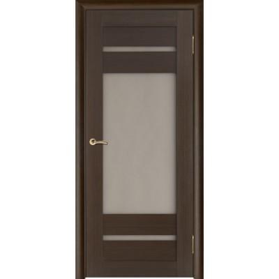 Дверь из массива сосны покрытая шпоном - Вега-7 ПО