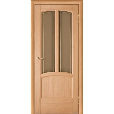 Дверь из массива сосны покрытая шпоном - Ветразь ПО