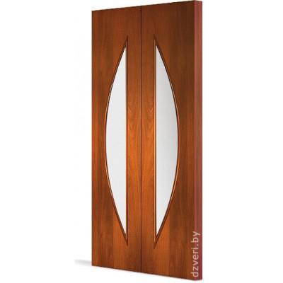 Складная ламинированная дверь - С-6