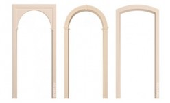 Межкомнатные арки МДФ без покрытия (отделки)