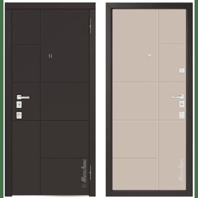 Дверь входная - Металюкс Милано М1101/1