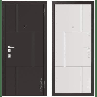 Дверь входная - Металюкс Милано М1103/1 E