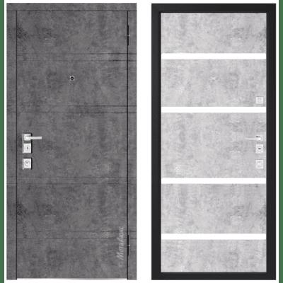 Дверь входная - Металюкс Милано М1300/10