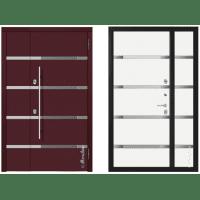 Дверь входная - Металюкс Милано СМ1501/14 E