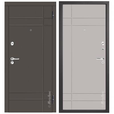 Дверь входная - Металюкс М57/3