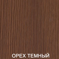 Двери экошпон Амати - цвет темный орех